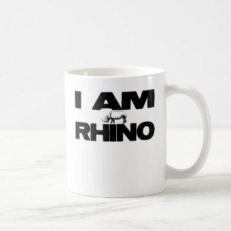 I AM RHINO COFFEE MUG