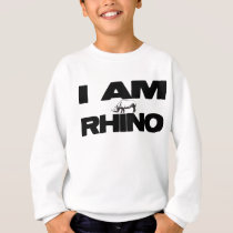 I AM RHINO SWEATSHIRT
