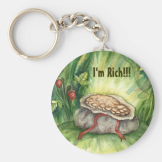 I Am Rich! key Chain
