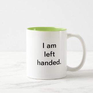 I am Right/Left handed Mug