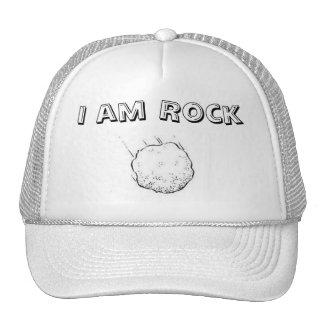 I am Rock Trucker Hat