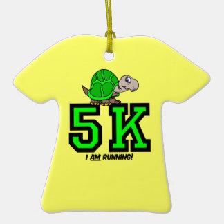 I am running 5K Christmas Tree Ornament