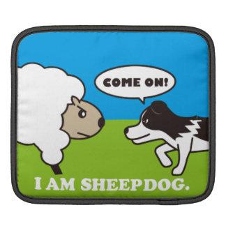 I AM SHEEPDOG iPad case