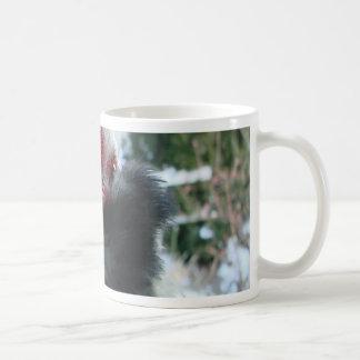 I am shy but i love you cockscomb coffee mug
