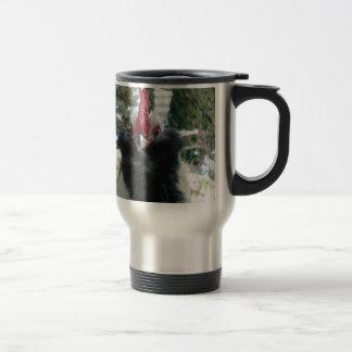 I am shy but i love you cockscomb coffee mugs