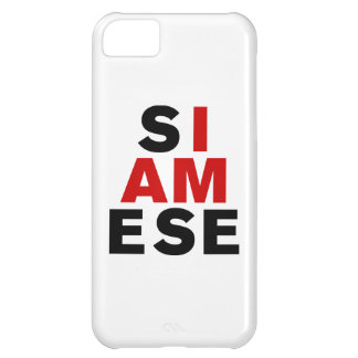I AM SIAMESE CASE FOR iPhone 5C