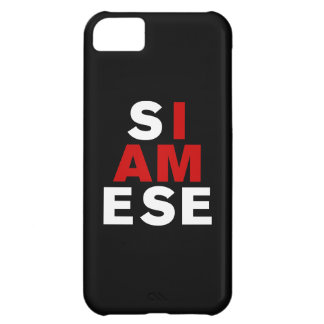 I AM SIAMESE COVER FOR iPhone 5C