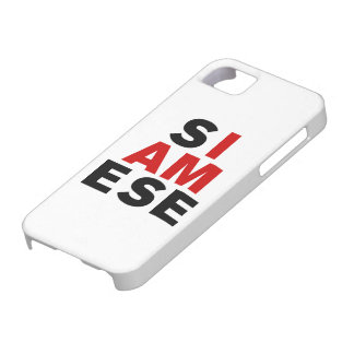 I AM SIAMESE iPhone SE/5/5s CASE