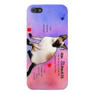 I am Siamese iPhone SE/5/5s Cover