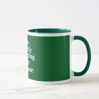 I am silently correcting your grammar. mug