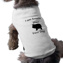 I am Smarter Then Your Dog, Mini Pig Tank Top