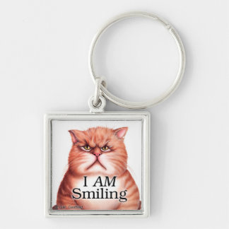 I AM Smiling keychain