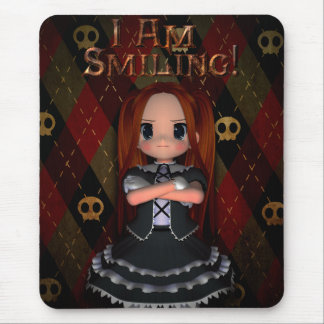 I Am Smiling Mouse Pad