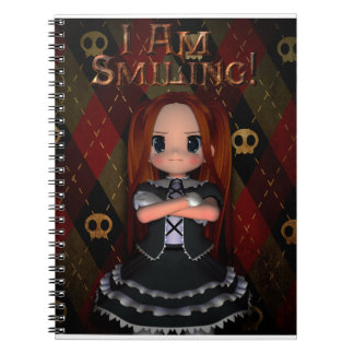I Am Smiling Spiral Note Books