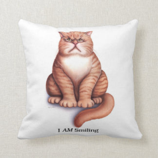 I AM Smiling Pillow