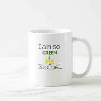 I Am So Green I Pee Biofuel Coffee Mug