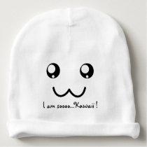I am so Kawaii Cute Face Anime Adorable Baby Beanie