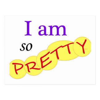 I-am-so-Pretty Postcard