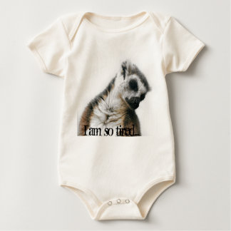 I am so tired… baby bodysuit