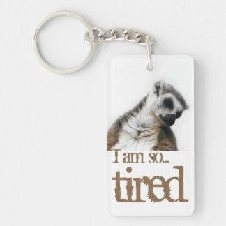 I am so tired… keychain