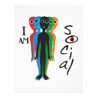 (I am) Social Flyer