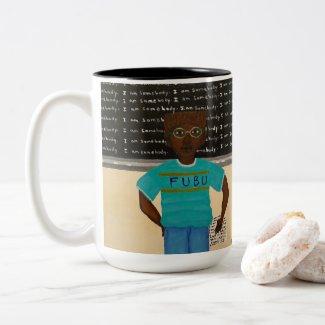 I Am Somebody Two-Tone Coffee Mug