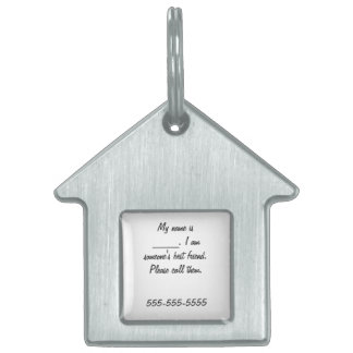 I am someone's best friend-lost dog tag