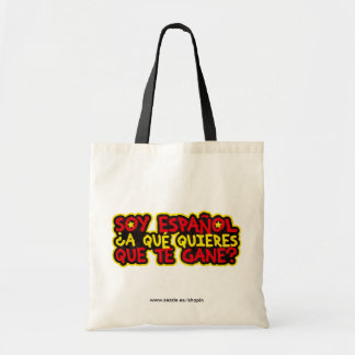 I am Spanish To what you want that it wins to you? Budget Tote Bag