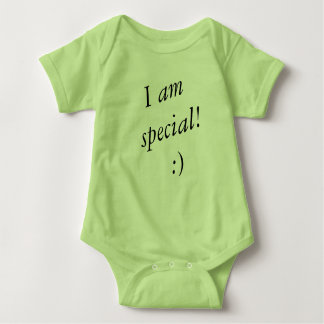 I am special baby body suit baby bodysuit