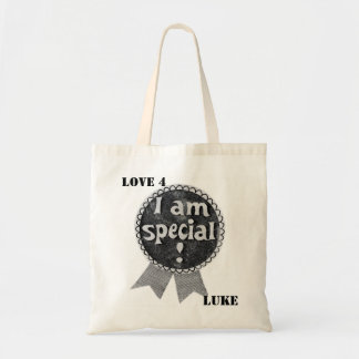 I AM SPECIAL-LOVE 4 LUKE tote Budget Tote Bag