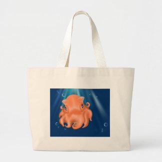 I am Squishy Large Tote Bag