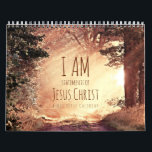 "I am Statements of Jesus Christ Bible Verse Calendar<br><div class=""desc"">I am Statements of Jesus Christ Bible Verse Calendar. An inspirational Christian calendar gift. Features beautiful matching images for each 'I am' statement of the Lord Jesus Christ. These Bible verses are taken from the King James Bible version. Since this calendar is customized you can replace the text to your...</div>"