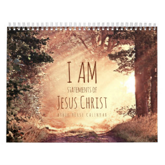I am Statements of Jesus Christ Bible Verse Calendar
