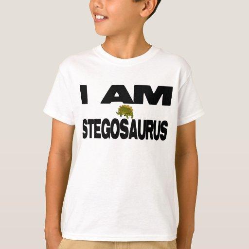 I A Stegosaurus Shirt I Am Stegosaurus T-Shi...
