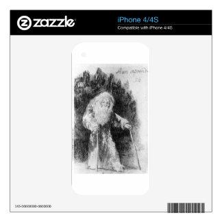 I am Still Learning by Francisco Goya iPhone 4 Decal