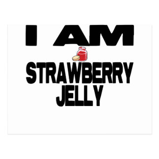 I Am Strawberry Jelly Postcard