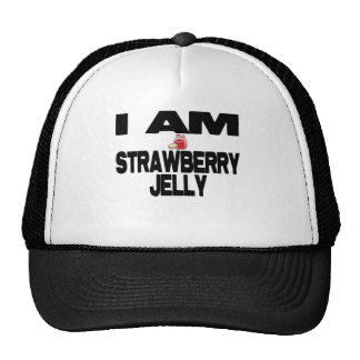 I Am Strawberry Jelly Trucker Hat