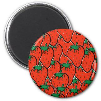 I am strawberry magnet plain