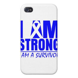 I am Strong I am a Survivor Ankylosing Spondylitis iPhone 4 Cases