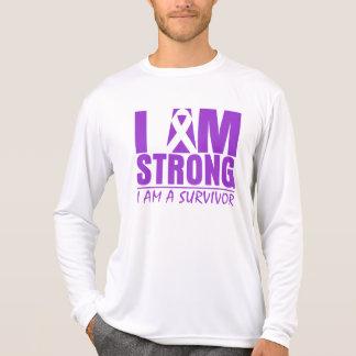 I am Strong - I am a Survivor - Cystic Fibrosis Tshirts