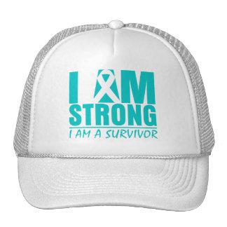 I am Strong  I am a Survivor Interstitial Cystitis Mesh Hats