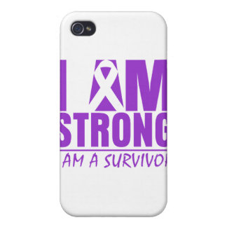 I am Strong - I am a Survivor - Lupus Covers For iPhone 4