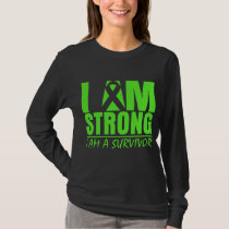 I am Strong - I am a Survivor - Lyme Disease T-Shirt