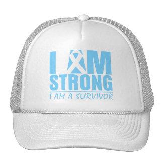 I am Strong - I am a Survivor - Prostate Cancer Hat