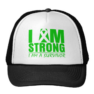 I am Strong - I am a Survivor - Spinal Cord Injury Mesh Hats