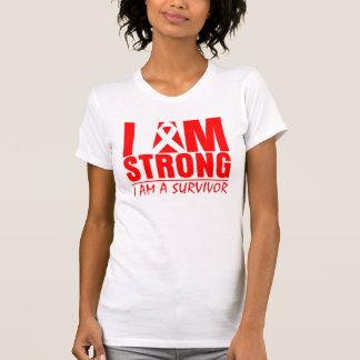 I am Strong - I am a Survivor - Stroke Disease T-Shirt