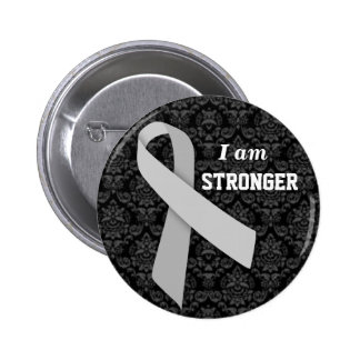 I am Stronger than MS Pinback Button