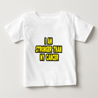 I Am Stronger Than My Cancer Baby T-Shirt