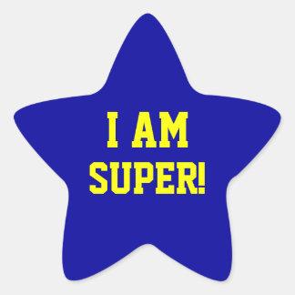 I AM SUPER STICKER
