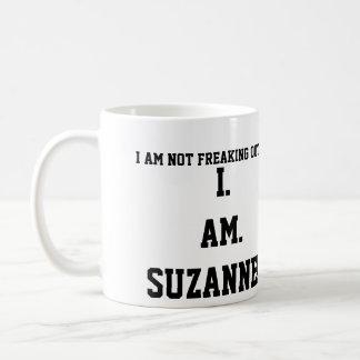 I. AM. SUZANNE!!!! CLASSIC WHITE COFFEE MUG